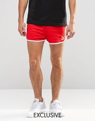 Puma Vintage Shorts Exclusive To Asos Red