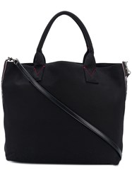 Pinko Embellished Brand Tote Bag Black