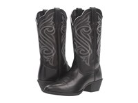 Ariat Round Up R Toe Limousin Black Cowboy Boots