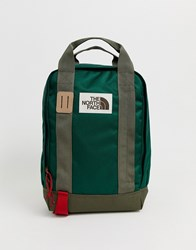 The North Face Tote Pack In Green