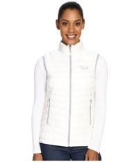 Mountain Hardwear Ghost Whisperer Down Vest White Women's Vest