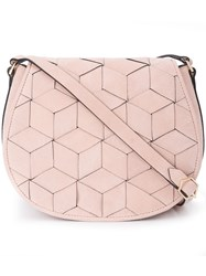 Welden Saddle Bag Women Calf Leather One Size Pink Purple