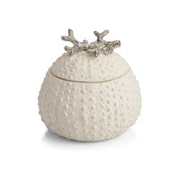 Michael Aram Sea Urchin Sculpted Filled Candle
