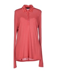 Fred Perry Polo Shirts Coral