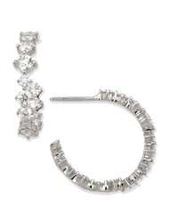 Anniversary Collection Diamond Hoop Earrings Maria Canale For Forevermark