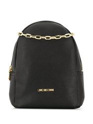 Love Moschino Smooth Backpack Black