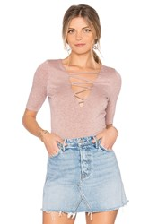 Riller And Fount Bobbie Criss Cross Top Pink