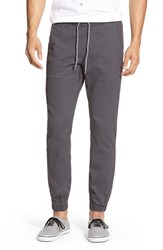 Men's Volcom 'Fitzroy' Woven Jogger Pants Charcoal
