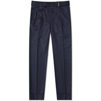 Officine Generale Flannel Pierre Pant Blue