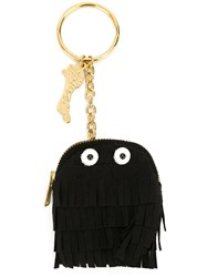 Muveil Fringed Ghost Keyring Black