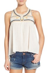 Women's Rip Curl 'Tribal Myth' Embroidered Tank