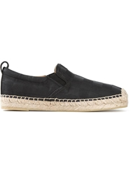 Marc By Marc Jacobs Checked Espadrilles Black