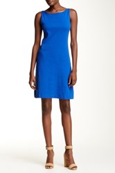 Andrea Jovine A Line Tank Dress Blue