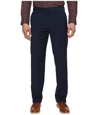 Dockers Solid With Dual Action Straight Fit Pants Navy Men's Casual Pants