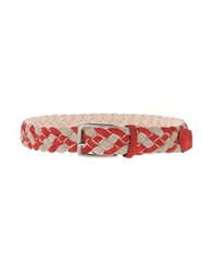 Cantarelli Belts Brick Red