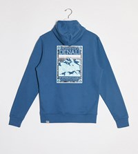 The North Face Faces Hoodie In Blue Exclusive At Asos