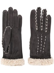 Agnelle Marielouise Gloves Grey