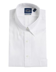 Eagle Tall Solid Dress Shirt White