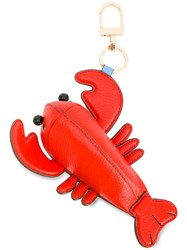 Tory Burch Lobster Keyring Red