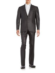 Kenneth Cole Reaction Two Button Suit Grey
