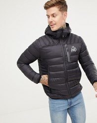 Kings Will Dream Puffer Jacket In Black