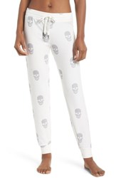 Pj Salvage Skull Jogger Pants Natural
