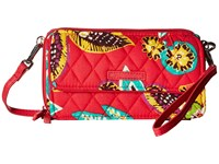 Vera Bradley Rfid All In One Crossbody Rumba Cross Body Handbags Red