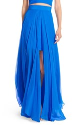 Women's Milly Silk Maxi Skirt