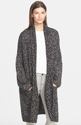 Women's Vince Multicolor Shawl Collar Cardigan Black