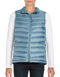 Marmot Jena Regular Fit Quilted Vest Blue Steel