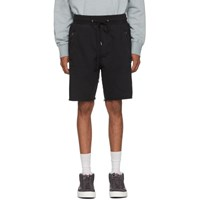 Ksubi Black Prospect Shorts