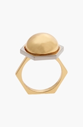 Rachel Zoe 'Mia' Dome Ring Gold