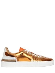 N3m Noitremilano Metallic Leather Sneakers