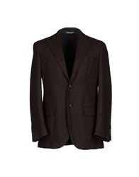 Peter Reed Suits And Jackets Blazers Men Dark Brown