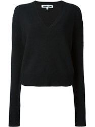 Mcq By Alexander Mcqueen V Neck Jumper Black