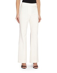 Tahari By Arthur S. Levine Plus Wide Leg Pants Ivory White