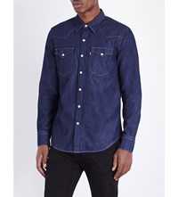 Levi's Barstow Regular Fit Western Shirt Red Cast Rinse