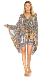 Camilla Split Shoulder Short Kaftan