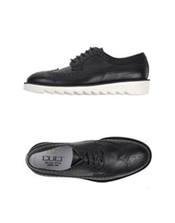 Cult Lace Up Shoes Black