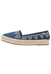 Xti Espadrilles Navy Dark Blue