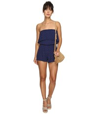 Billabong New Story Romper Starry Night Women's Jumpsuit And Rompers One Piece Blue