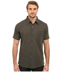 Kuhl Tropik S S Shirt Charcoal Men's Short Sleeve Button Up Gray