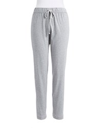Nautica Plus Pajama Pants Grey Ankle Pant