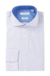 Isaac Mizrahi White Label Graph Print Dress Shirt