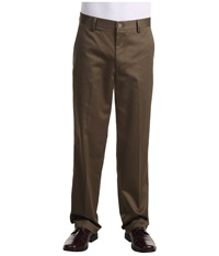 Dockers Signature Khaki D2 Straight Fit Flat Front Branch Men's Casual Pants Gray