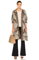 By Malene Birger Eleno Sweater In Abstract Gray Brown Abstract Gray Brown