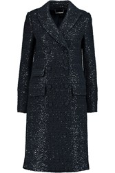 Diane Von Furstenberg Sequin Embellished Boucle Coat