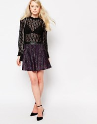Jovonna Jacopo Skirt In Multi Sequins Multi