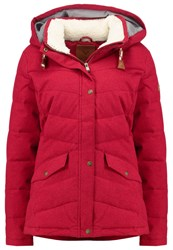 Roxy Nancy Winter Jacket Rhododendron Red