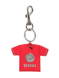 Versus Saffiano T Shirt Logo Key Holder